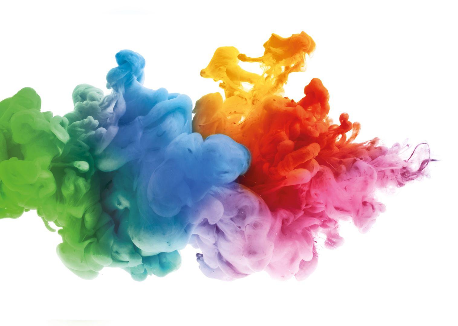 Фотки краски в воде искали