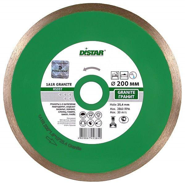 Алмазные диски 125*1,4*22,2мм диск отрезной алмазный GRANITE DISTAR Крепика дом крепежных материалов